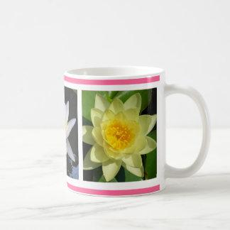 Three Lilies Classic White Coffee Mug