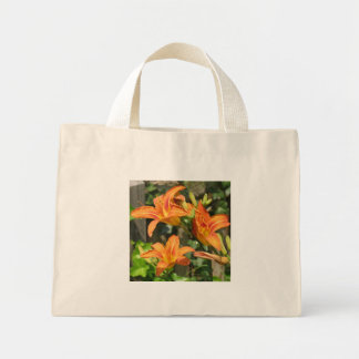 Three Lilies Tote Bags