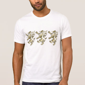 Three lions shaded gifts t shirt