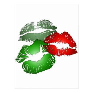 Three Lips Postcard