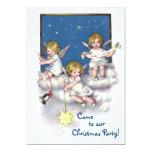 Three Little Angels 5x7 Paper Invitation Card