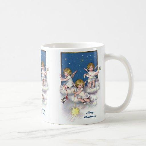 Three Little Angels Coffee Mug