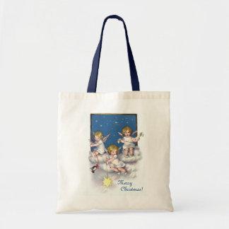 Three Little Angels Tote Bag