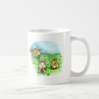 Three Little Binkies Classic White Coffee Mug