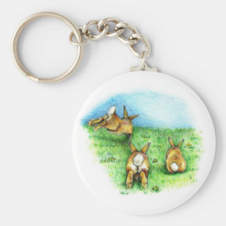 Three Little Binkies Keychain