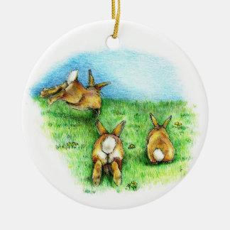Three Little Binkies Ornaments
