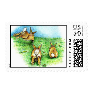 Three Little Binkies Postage