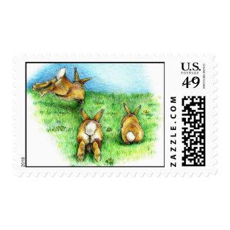 Three Little Binkies Postage Stamps