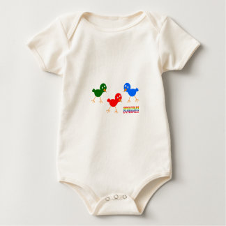 Three Little Birds Baby Bodysuit