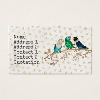 THREE LITTLE BIRDS Business Card