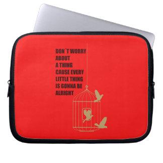 Three Little Birds Computer Sleeve