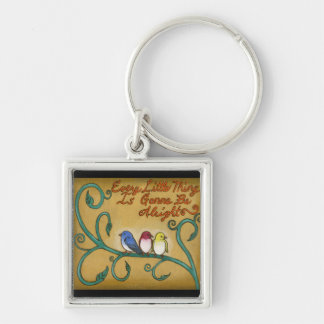 Three Little Birds Keychain