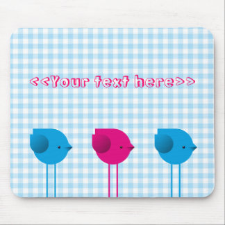 Three little birds mouse pad
