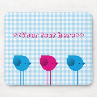 Three little birds mouse pad