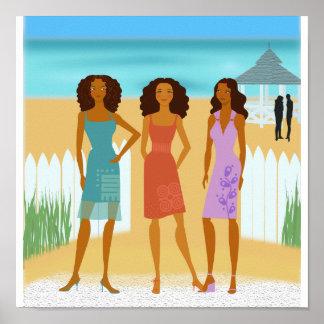 Three Little Chics Poster