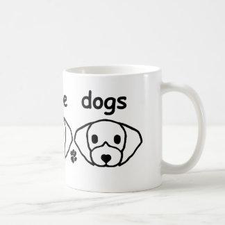 Three Little Dogs Coffee Mug