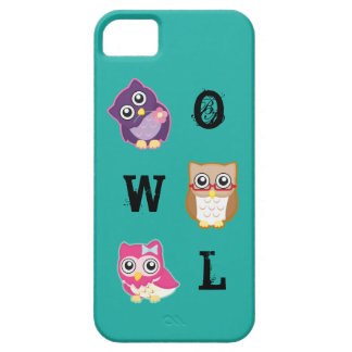 Three little fantasy Owls iPhone SE/5/5s Case