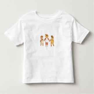 Three Little Friends Toddler T-shirt