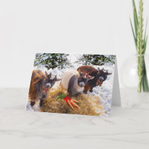 """Three Little Goats"" Greeting Card"