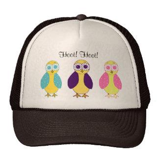 Three Little Hoot Owls Trucker Hat