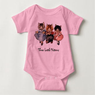 Three Little Kittens Baby Bodysuit