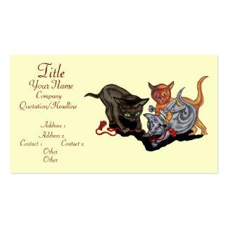 Three Little Kittens Business Card