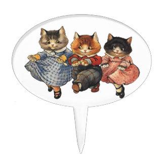 Three Little Kittens Cake Topper