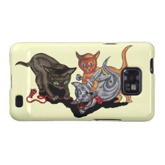 Three Little Kittens Galaxy S2 Cases