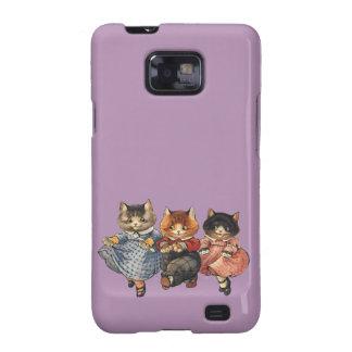 Three Little Kittens Samsung Galaxy SII Cases