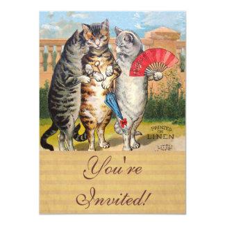 Three Little Kittens Mother Goose Card