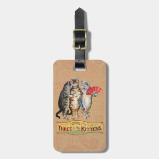 Three Little Kittens Mother Goose Tag For Luggage