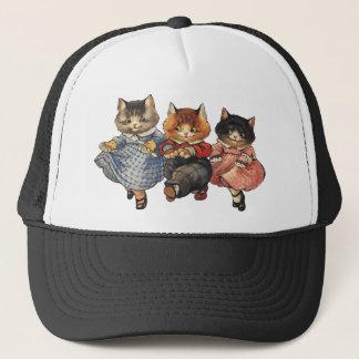 Three Little Kittens Trucker Hat