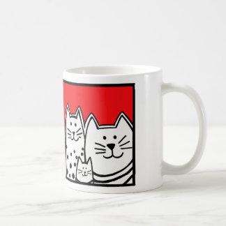 Three Little Kitties Coffee Mug