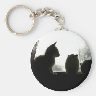 Three Little Kitties III Key Chains