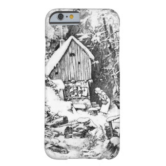 Three Little Men vintage art Barely There iPhone 6 Case