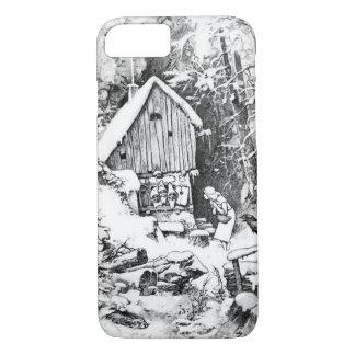 Three Little Men vintage art iPhone 8/7 Case