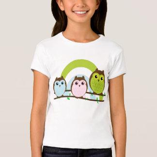 Three Little Owls T-Shirt