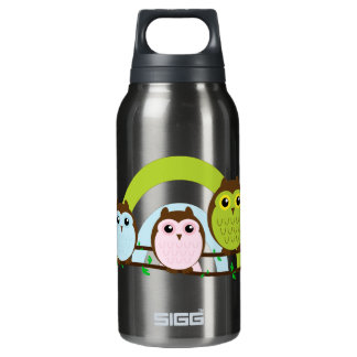Three Little Owls Thermos Bottle