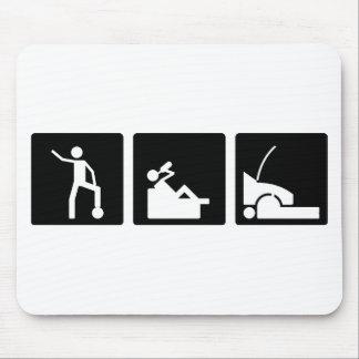 Three Little Pics - Men 12 Mouse Pad
