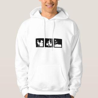Three Little Pics - Women 3 Hooded Pullover