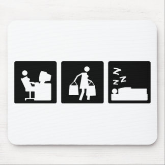 Three Little Pics - Women 3 Mouse Pads