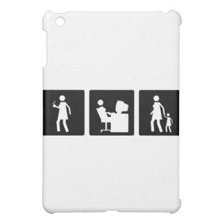 Three Little Pics - Women 5 iPad Mini Covers