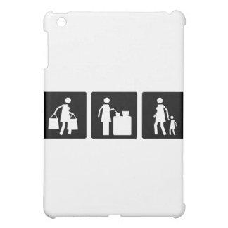 Three Little Pics - Women 8 iPad Mini Cover