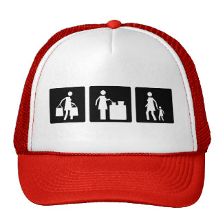 Three Little Pics - Women 8 Trucker Hat