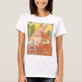 Three Little Pigs: Bricks to Build a House T-Shirt
