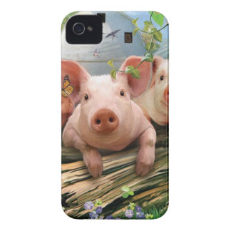 Three Little Pigs iPhone 4 Cases