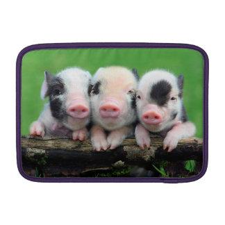 Three little pigs - cute pig - three pigs MacBook air sleeve