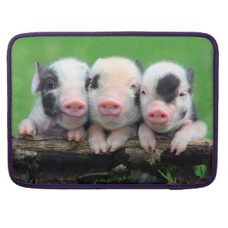 Three little pigs - cute pig - three pigs MacBook pro sleeve