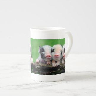 Three little pigs - cute pig - three pigs tea cup