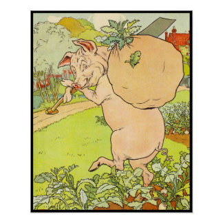 Three Little Pigs: Got the Turnips Poster